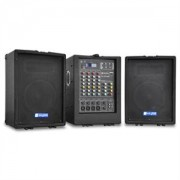 Sistem PA Skytec PA 100 portabil USB MP3 mixer cu 4 canale (Sky-170.298)