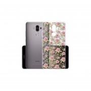 Funda Para Celular Huawei Mate 9 - Flores Blanco