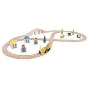 Bigjigs Toys Rail Rocket Train Set