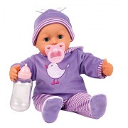 Bayer Design - 93 817 - Baby First Words With 24 Figli - Viola - 38 cm