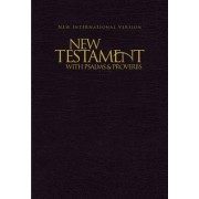 NIV, New Testament with Psalms and Proverbs, Pocket-Sized, Paperback, Blue by Zondervan Publishing
