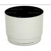 Canon ET-74 utángyártott fényellenző, napellenző fehér