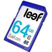 Card memorie Leef SDXC, 64GB, Clasa 10