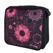 Geanta de umăr messenger Be.Bag, dimensiune 38x34x12,5 cm motiv Ornament Flowers