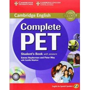 Emma Heyderman Complete PET for Spanish Speakers Student's Book with Answers with CD-ROM
