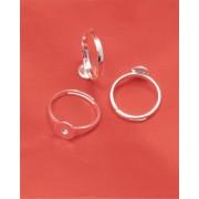Cadre inel regrabil Argint 925 placat cu Aur