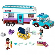 LEGO Friends 41125 Horse Vet Trailer Building Kit (370 Piece)