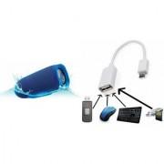 ETN Bluetooth Speaker (JBL_Charge 3+ Speaker) And Mobile OTG Connector for XOLO LT 900