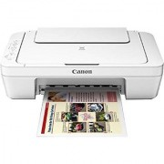 Canon Pixma MG 3077s All-In-One Color InkJet Printer (White)