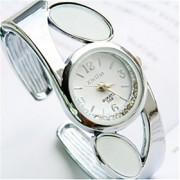 Mulheres Relógio de Moda Quartz Banda Preta / Branco / Vermelho / Rosa marca-