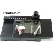 Masă specimene cu cremalieră pentru microscoape stereo mari