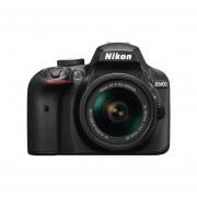 Cámara Reflex Digital Nikon D3400 24MP con Lente 18-55mm-Negro