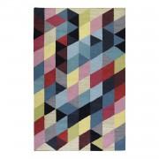 Tapijt Rainbow Triangle Kelim - handgeweven - katoen - meerdere kleuren - 130x190cm, Esprit