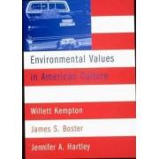 Environmental Values in American Culture by Willett M. Kempton