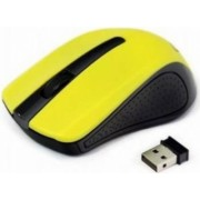 Mouse Wireless gembird MUSW-101-G Galben