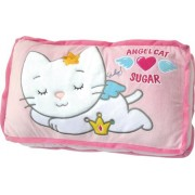 coussin angel cat sugar de 45 x 27 cm