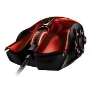 Razer Naga Moba Hex RZ01-00750200 Wraith Wired Mouse (Red)