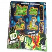 Train Set Ultimate Alien Ben 10 Train In High Speed Train