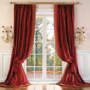 "Vorhang ""Versailles"", 1 Vorhang, 142 x 280 cm - Creme - links"