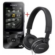 MP3 video Player Sony NWZ-E585B, 16GB, +Casti
