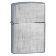 Zippo Classic Linen Weave Brushed Chrome Locking Carabiner(Silver)