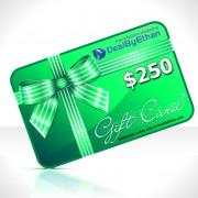 Gift Certificate $250 Menswear Gift Ideas