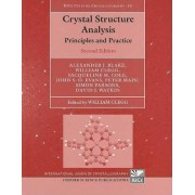 Crystal Structure Analysis by Alexander J. Blake