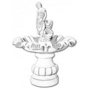 VB Fontanna ogrodowa betonowa figura kobiety 125cm