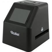 Rollei DF-S 310 SE - Slide Film Scanner - Ecran couleur TFT-LCD 2.4 pouces - Edition Spéciale, nombreux accessoires fournis - Noir