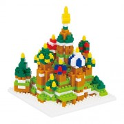 nanoblock St. Basil's Cathedral NBH-051 (japan import)