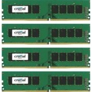 Kit Memorie Crucial 4x4GB DDR4 2400MHz CL17 Quad Channel