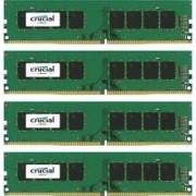 Kit Memorie Crucial 4x4GB DDR4 2400MHz CL17 Quad Channel