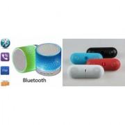 ZEMINI Music Mini Bluetooth Speaker(S10 Speaker) And Bluetooth Speaker (Facebook Speaker) for HTC DESIRE 530