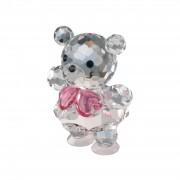 Figurina cristal Preciosa - Baby Bear (Pink)