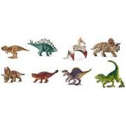 Schleich Mini Dinosaur Set - 8 Styles: Includes Pentaceratops Tyrannosaurus Spinosaurus Saichania and MORE!
