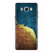 Noise Designer Printed Case / Cover for Samsung Galaxy J7 - 6 (New 2016 Edition) / Patterns & Ethnic / Marine Shimmer Design - (GD-909)