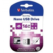 Verbatim 16GB Store 'n' Stay USB 2.0 Flash Drive Black 97464