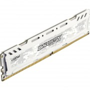 Crucial Ballistix Sport LT 4GB Single DDR4 2400 MT/s (PC4-19200) DIMM 288-Pin Memory - BLS4G4D240FSC (White)