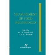 Measurement of Food Preference by H. J. H. MacFie