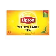 Lipton Ceai Yellow Label 50 plicuri