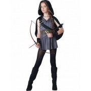 Vegaoo Bogenschütze-Kostüm für Mädchen - Deluxe