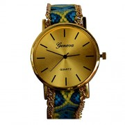CREATOR Geneva Thread Design Adjustable Strap Watch For Women And Girls
