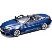 Miniatura BMW Seria 6 Cabrio F12M 1:18 San Marino Blue