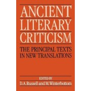 Ancient Literary Criticism by D. A. Russell