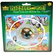 Wild Republic Blst Puzzle Track Car Animal (12 Pieces)
