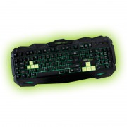 KBD, KEEPOUT F80, Gaming, LED, 12 multimedia and 5 programmable keys