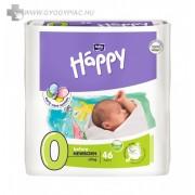 Bella Baby Happy Before Newborn 0-2KG 46 db/csomag kis súlyú újszülöttek számára