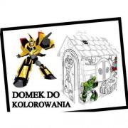 Mochtoys Domek do kolorowania Mochtoys Transformers