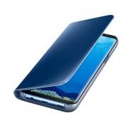 Samsung Clear View Stand Cover EF-ZG955CLEGWW - оригинален кейс с поставка, през който виждате информация от дисплея за Samsung Galaxy S8 Plus (син)