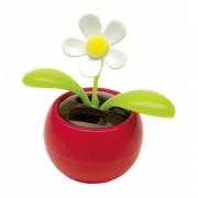 Bewegende bloem op zonne engerie